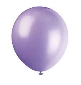 unique 5'' Lavender Latex Balloons - 72ct.