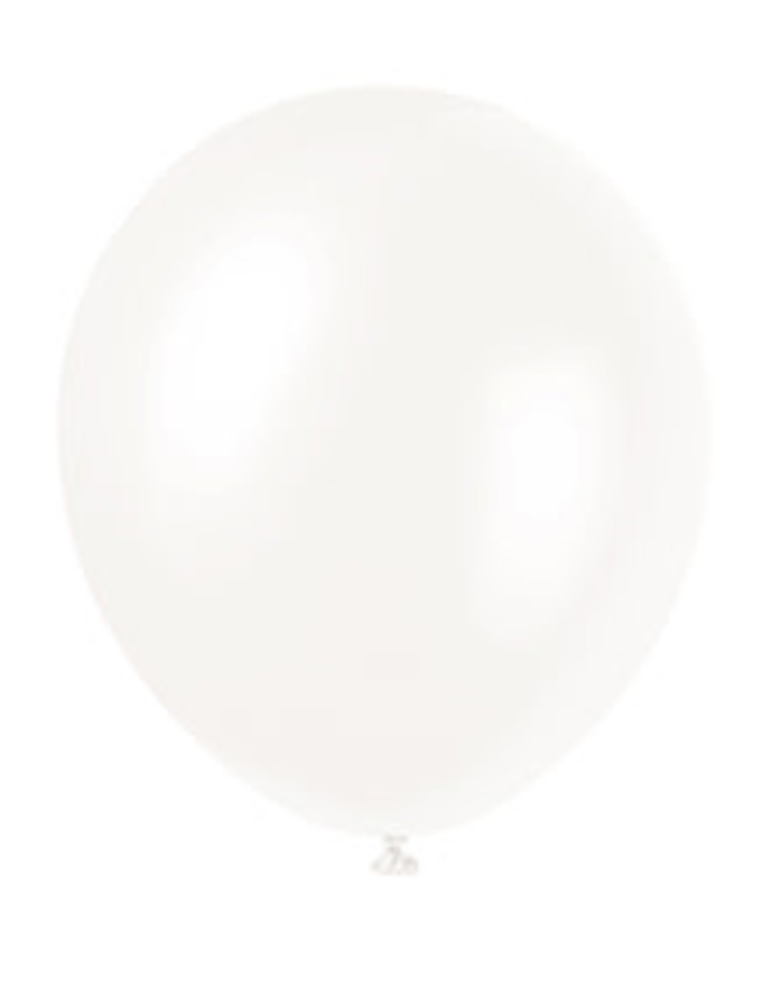 "unique 5"" White Latex Balloons - 72ct."