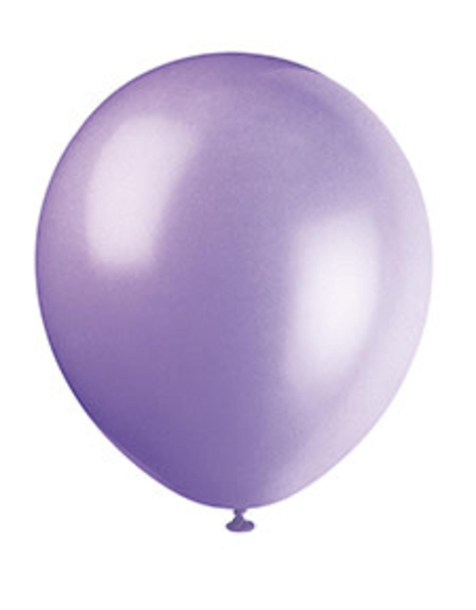 unique 12'' Lavender Latex Balloons - 10ct.