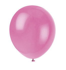"""unique 12"""" Bubblegum Pink Latex - 10ct."""