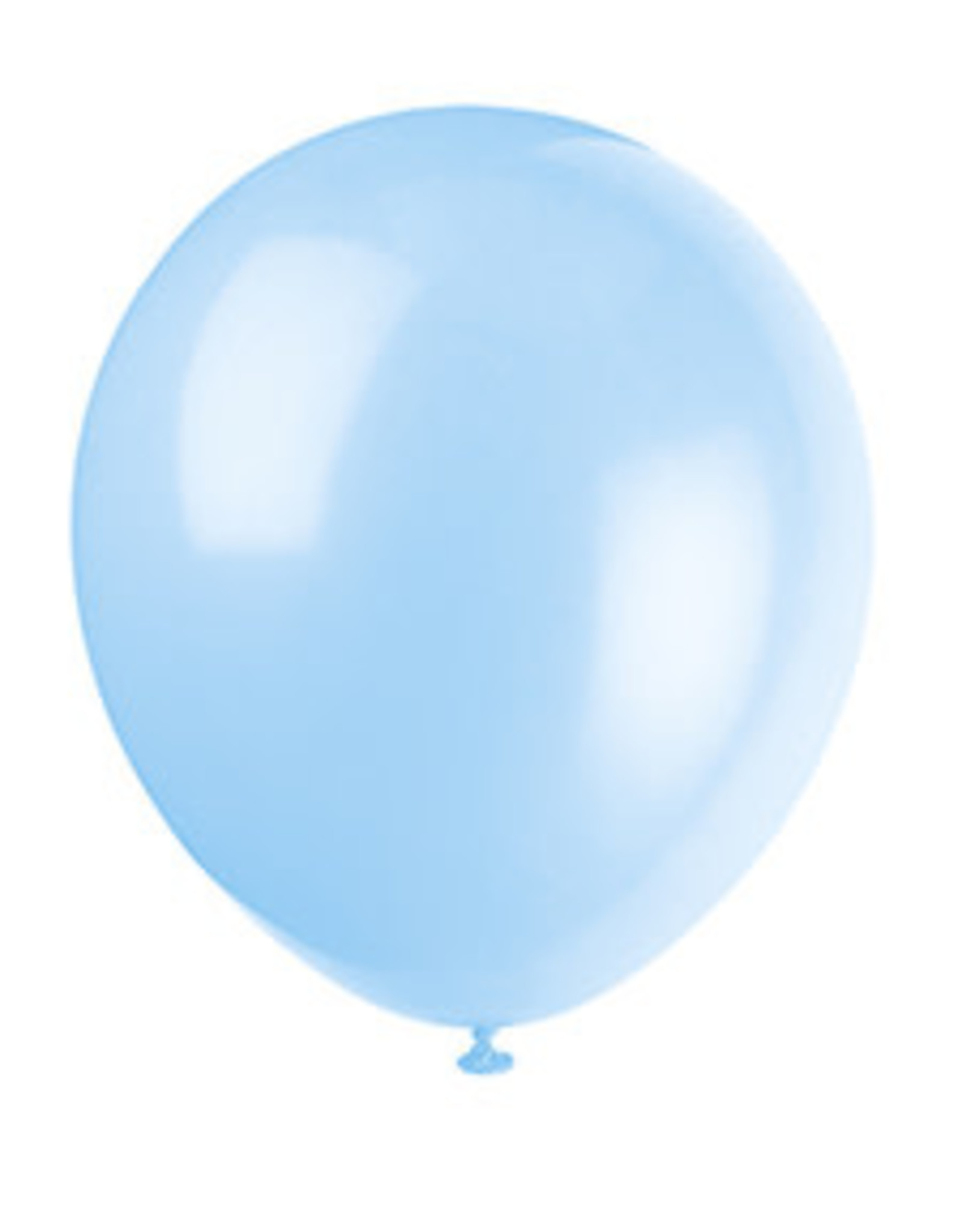 "unique 9"" Baby Blue Balloons - 20ct."