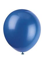 "unique 9"" Royal Blue Latex Balloons - 20ct."