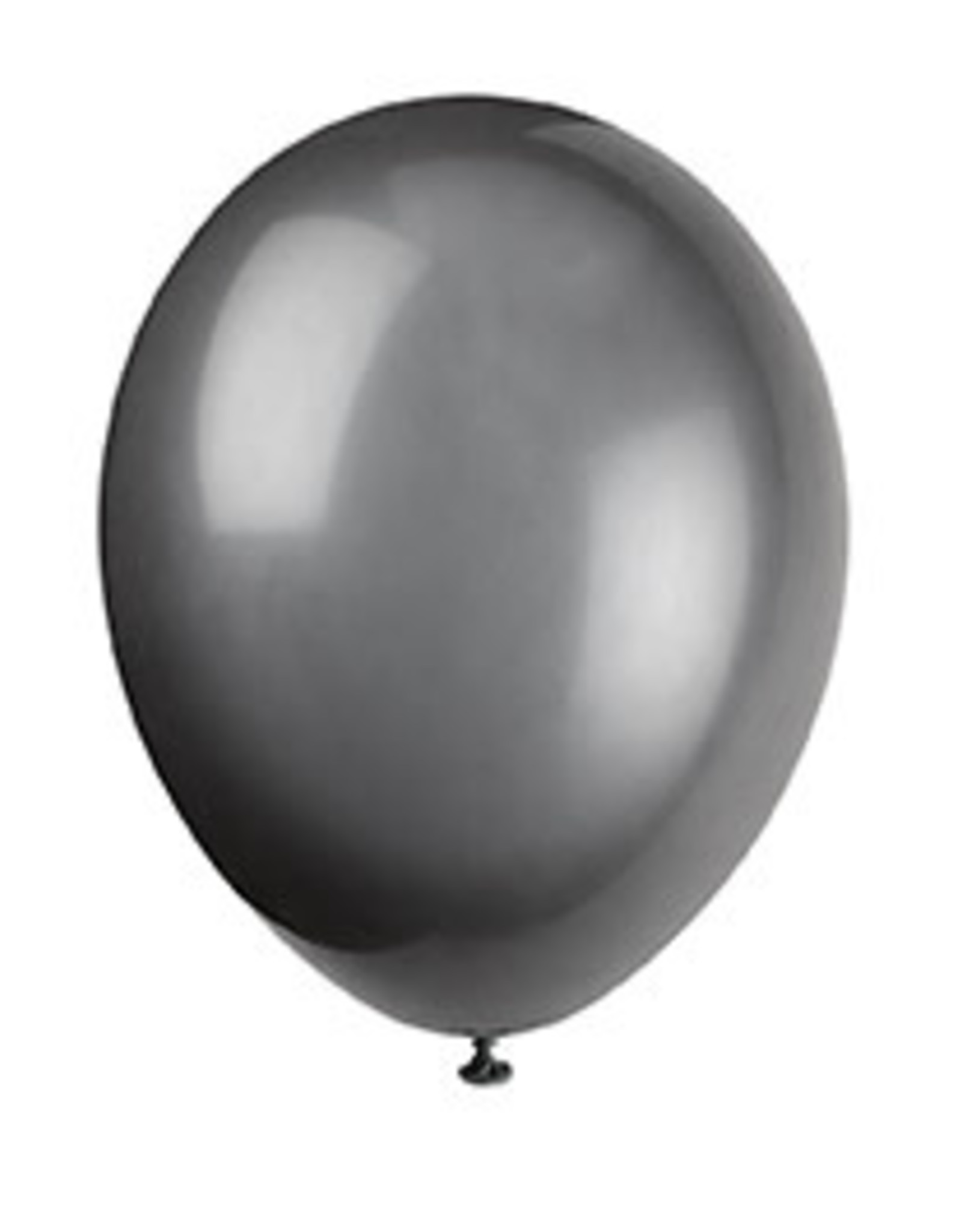"unique 12"" Phantom Black Prem. Balloons - 50ct."