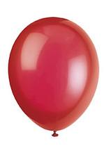 """unique 12"""" Scarlet Red Premium Latex - 50ct."""