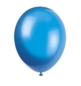 "unique 12"" Navy Blue Premium Balloons- 50ct."