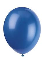 """unique 12"""" Evening Blue Premium Balloons - 50ct."""