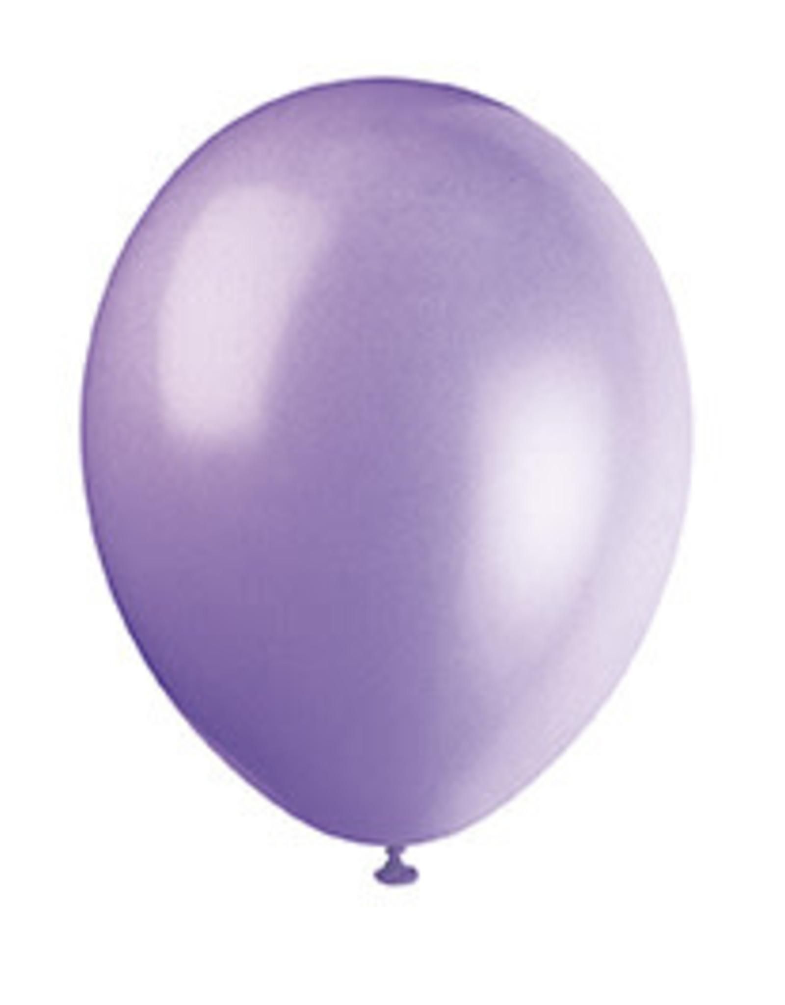 """unique 12"""" Lilac Lavender Prem. Balloons - 50ct."""