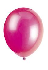 """unique 12"""" Fuchsia Pink Premium Balloons - 50ct."""