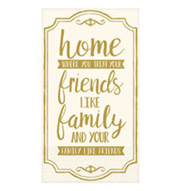 Amscan Premium Friends/Family Guest Towels - 16ct.