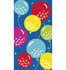 unique Balloon Cheer Guest Towel - 24ct.
