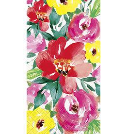 unique Brushed Floral Guest Towel - 24ct.