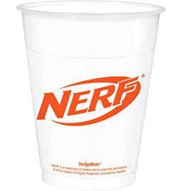 Amscan Nerf 16oz. Plastic Cup - 25ct.