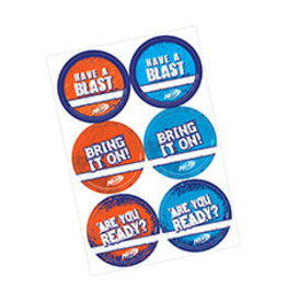 Amscan Nerf Stickers - 24ct.