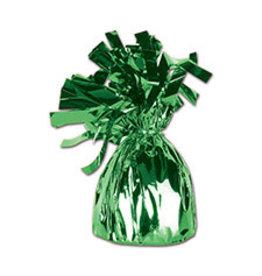 Beistle Green Balloon Weight