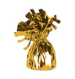 Beistle Gold Balloon Weight