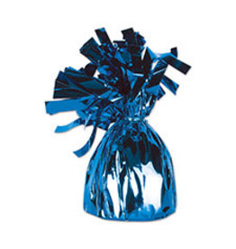 Beistle Blue Balloon Weight