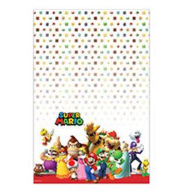 """Amscan Super Mario Tablecover 54"""" x 96"""""""
