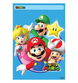 Amscan Super Mario Loot Bags - 8ct.