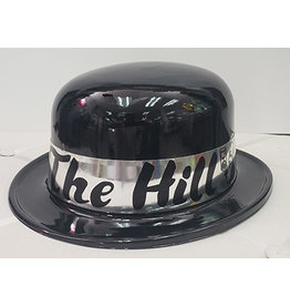 Beistle Over The Hill Black Derby Hats - 1ct.