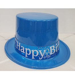 Beistle Blue Birthday Top Hat