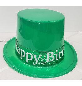 Beistle Green Birthday Top Hat