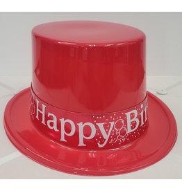 Beistle Red Birthday Top Hat