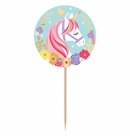 Amscan Magical Unicorn Picks - 24ct.
