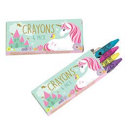 Amscan Magical Unicorn Crayons - 12ct.