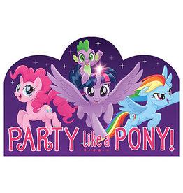 Amscan My Little Pony Invites - 8ct.