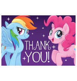Amscan My Little Pony Thankyou's - 8ct.