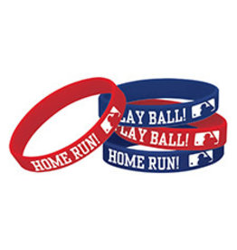 Amscan MLB Rubber Bracelets - 12ct.