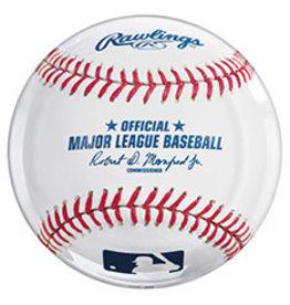 """Amscan MLB 13.5"""" Baseball Platter"""