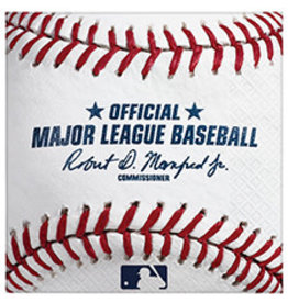 Amscan MLB Rawlings Bev. Napkins - 16ct.