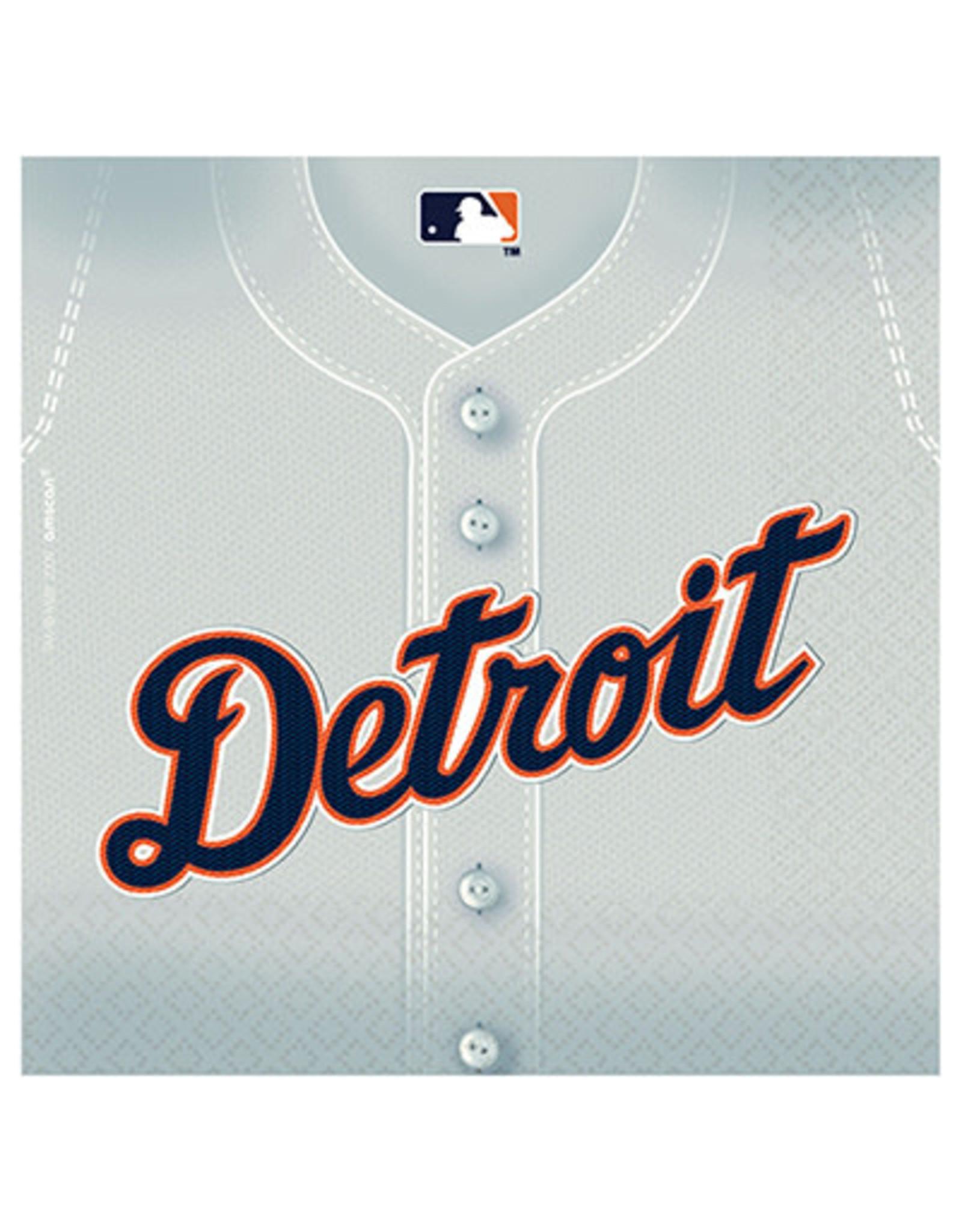 Amscan Detroit Tigers Lun. Napkins - 36ct.