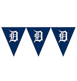 Amscan Detroit Tigers Pennant Banner - 12ft.