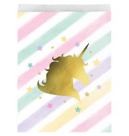creative converting Unicorn Sparkle Treat Bags