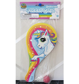 fun express Unicorn Paddle Ball - 1ct.