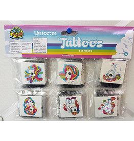 fun express Unicorn Tattoos - 144ct.