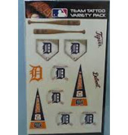 Rico Industries Detroit Tigers Team Tattoo's - 13ct.