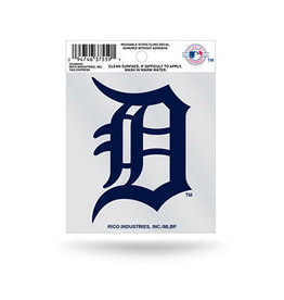 Rico Industries Detroit Tigers Static Cling Decal