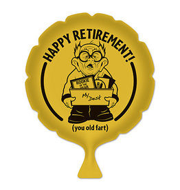 Beistle Happy Retirement! Whoopee Cushion