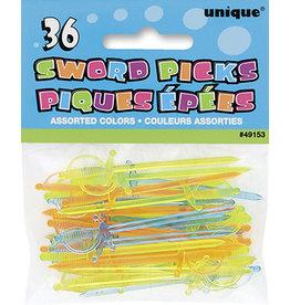 unique Sword Picks - 36ct.