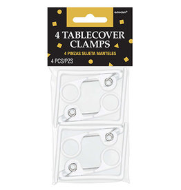 Amscan Table Cover Clamps - 4ct.