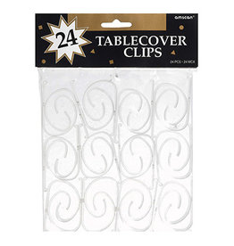 Amscan Table Cover Clips - 24ct.