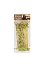 "northwest 7"" Bamboo Knot Picks - 100ct."