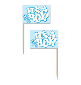 Beistle It's A Boy! Picks - 50ct.