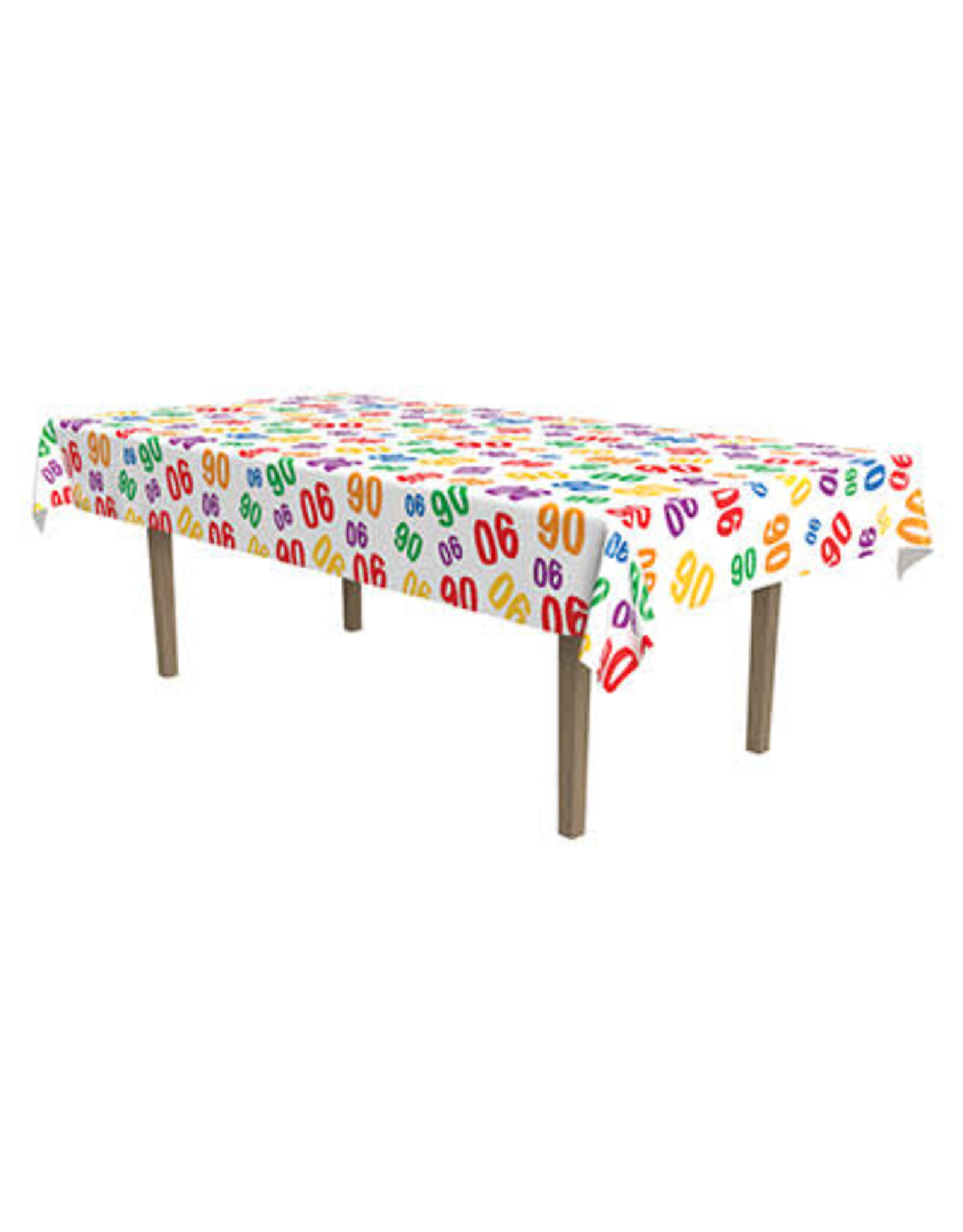 Beistle '90'  Tablecover