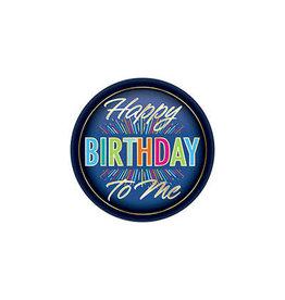 Beistle Happy Birthday To Me Button