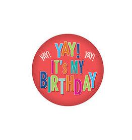 Beistle Yay! It's My Birthday Button