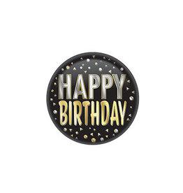 Beistle Happy Birthday Button